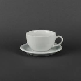 Чайная пара чашка 450мл+блюдце Lubiana Ameryka 107