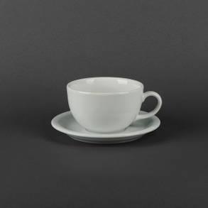 Чайная пара чашка 350мл+блюдце Lubiana Ameryka 107, фото 2