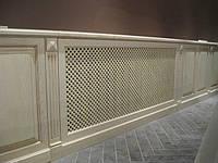 Экраны для батарей отопления, декоративная деревянная решетка., фото 1