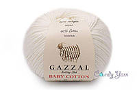 Gazzal Baby Cotton, слоновая кость №3410