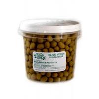 Оливки зеленые 5 кг.  в вёдрах