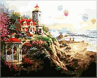 Раскраска по цифрам MENGLEI Сказочный маяк