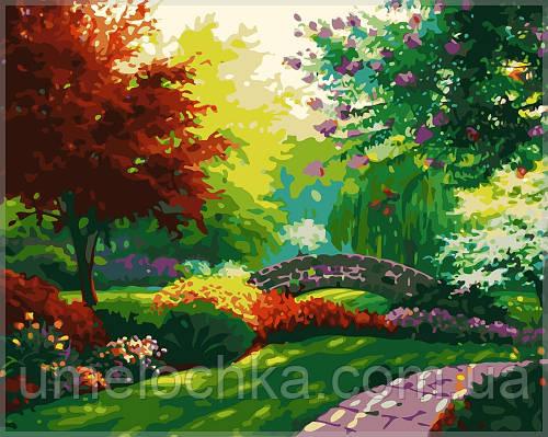 Раскраска по номерам MENGLEI Осенний сад