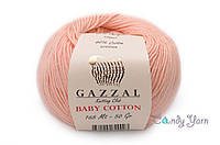 Gazzal Baby Cotton, Персик №3412