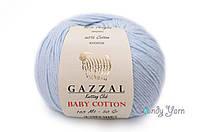 Gazzal Baby Cotton, голубой №3429