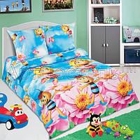 Постельное для детской кроватки Медовая фея, поплин