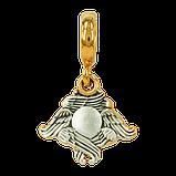 Шарм Бусина серебряная Серафим Б281-R, фото 3