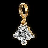 Шарм Бусина серебряная Серафим Б281-R, фото 4