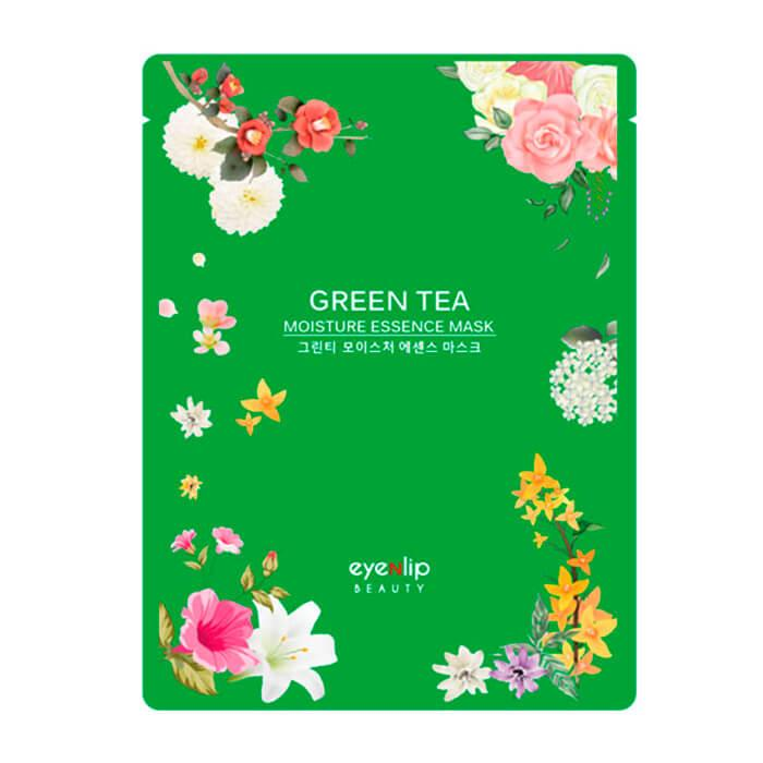 Тканевая маска EYENLIP Moisture Essence Mask Green tea