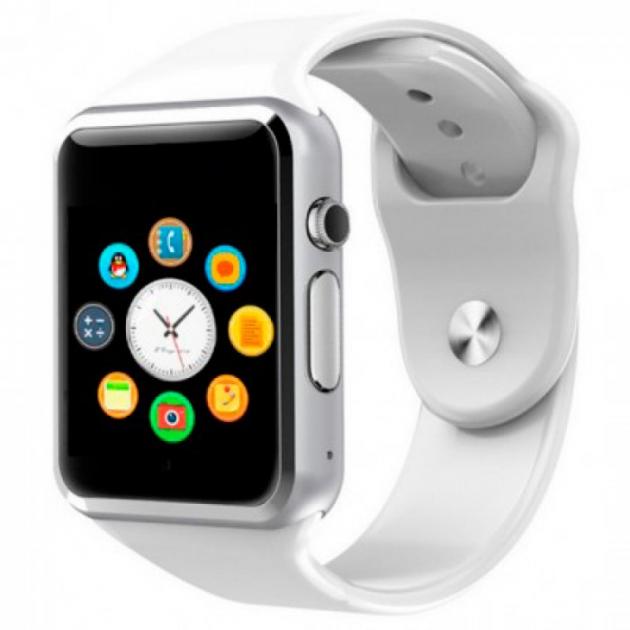 Смарт часы Smart Watch A1 (сим карта, bluetooth, MicroSD, будильник. шагомер)