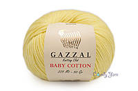 Gazzal Baby Cotton, Лимонный №3413