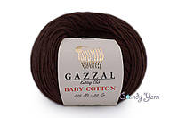 Gazzal Baby Cotton, Шоколад №3436