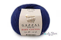 Gazzal Baby Cotton, ультрамарин №3421