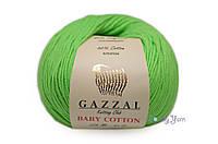 Gazzal Baby Cotton, салатовый №3427
