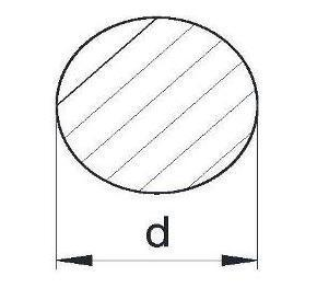 Пруток алюминиевый | Кругляк - диаметр 12мм