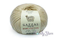 Gazzal Baby Cotton, крем №3445