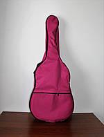 Надежный чехол для акустической гитары Muzwear crimson pink 05