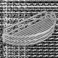 Полку Metaltex для душу (404808)