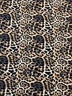 Ткань софт леопардовый принт, фото 1