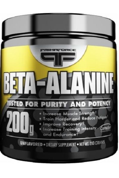 Бета Аланин в порошке, Primaforce Beta Alanine, 200 gram