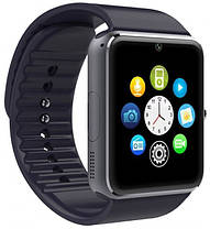 Розумні смарт-годинник Smart Watch UWatch GT08 Black, фото 2