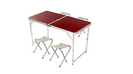 Набор Folding Table 120*60 cm brown