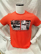 Стильная мужская футболка  Daniel Jones с изображением впереди