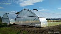 Теплицы фермерские оцинкованные для бизнеса для сезонного выращивания рассады на заказ, фото 1