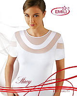 Майки женские футболка короткий рукав KOSZULKA EMILI STACY Женская одежда Польша