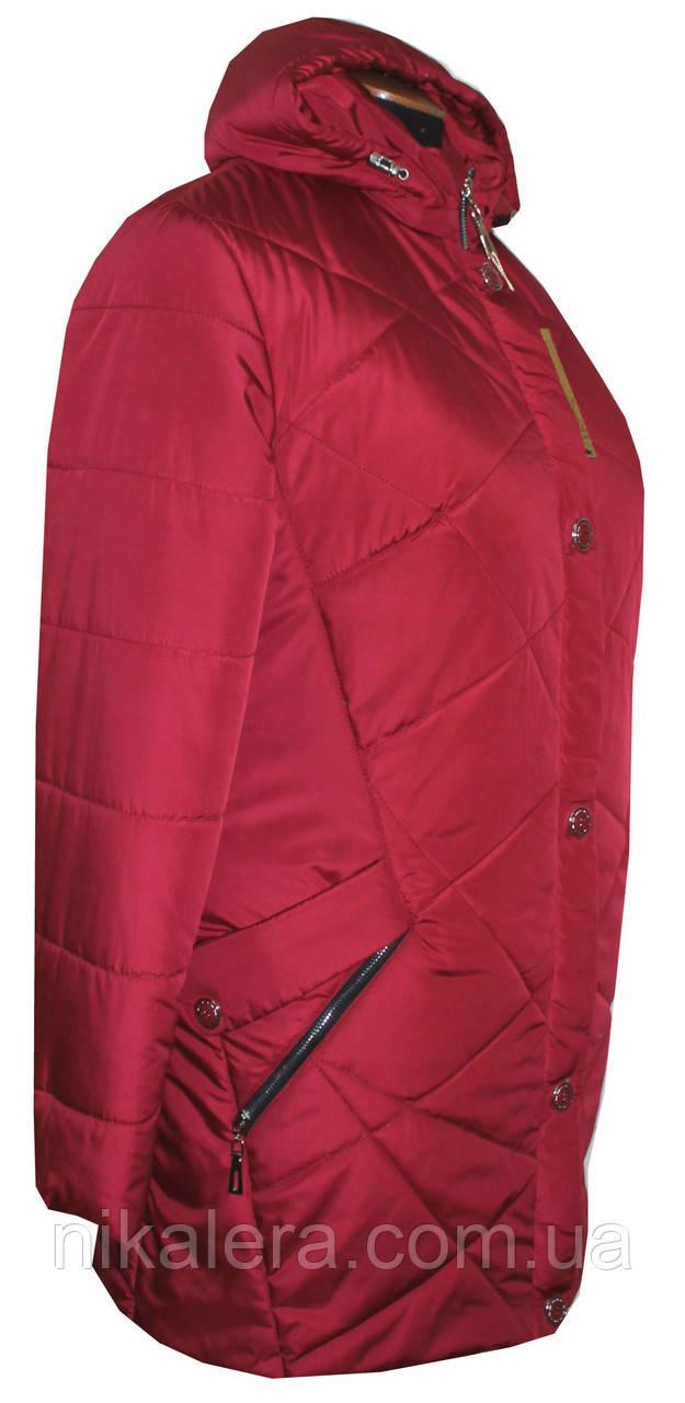 Женская куртка большие размеры рр  54-66