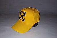 Бейсболка мужская OFF-WHITE 19-80 жёлтая