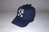 Бейсболка мужская OFF-WHITE 19-80 тёмно-синяя