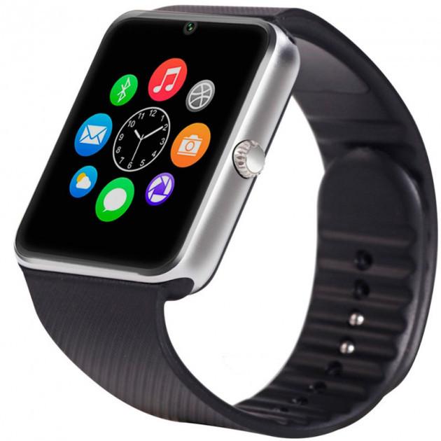 Розумні смарт-годинник Smart Watch UWatch GT08 Silver