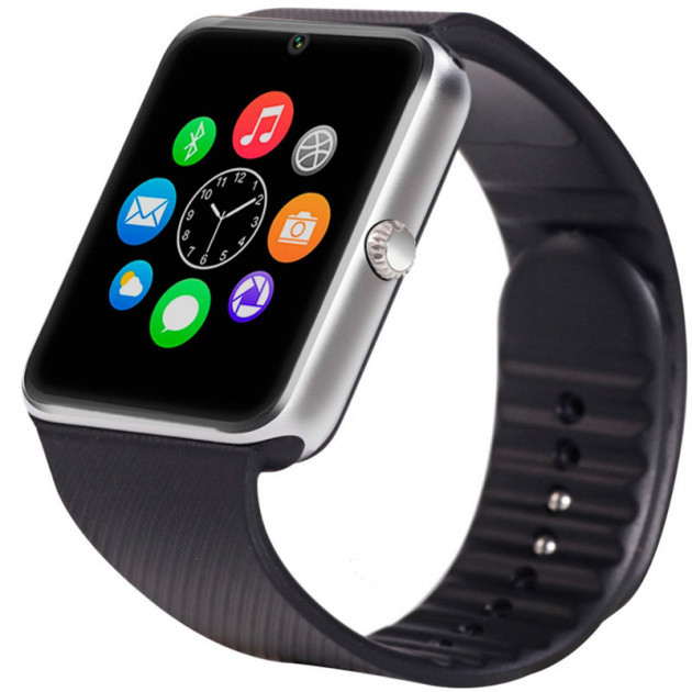 Умные смарт-часы Smart Watch UWatch GT08 Silver
