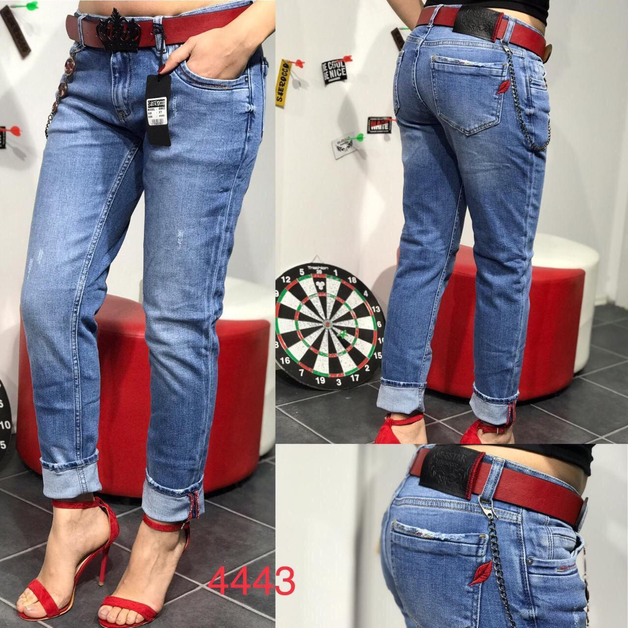 704adb08343 Женские джинсы Турция с красным ремнем р25-30