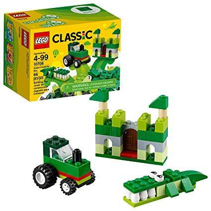 Конструктор LEGO Classic Зеленая творческая коробка