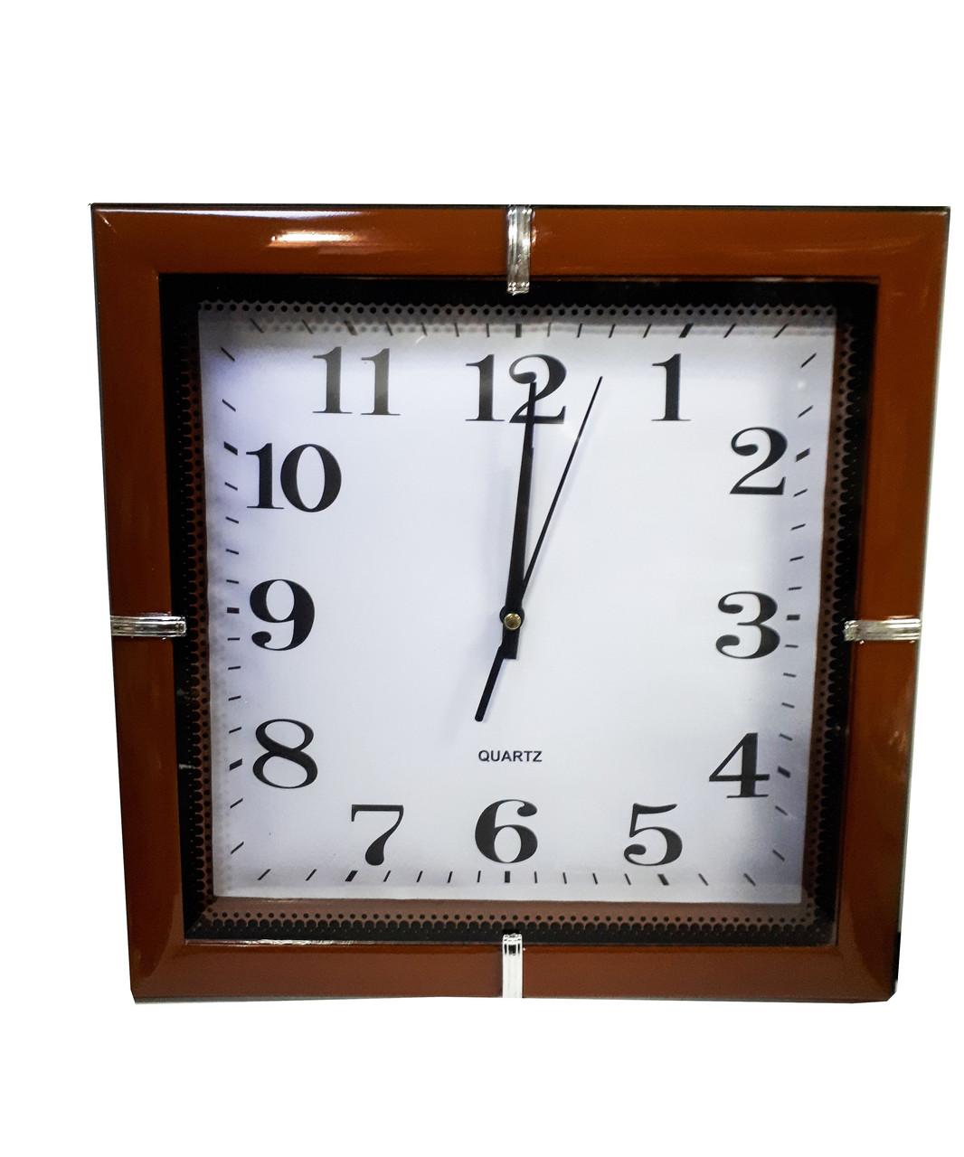 Часы настенные квадратные Abееr 156SBR