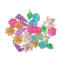 Декорация для аквариума Trixie Ракушки декоративные, набор 24 шт. (пластик)