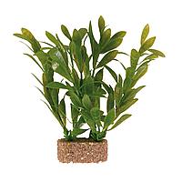 Декорация для аквариума Trixie растение с утяжелителем 10 см (пластик, растения в ассортименте)