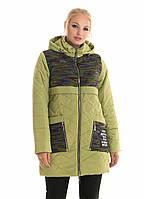 Женская куртка молодежная комбинированная  рр 42-48