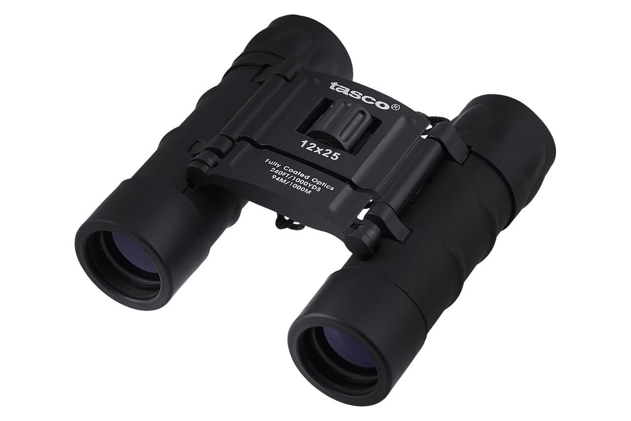 Бинокль 12х25-TASCO (black)