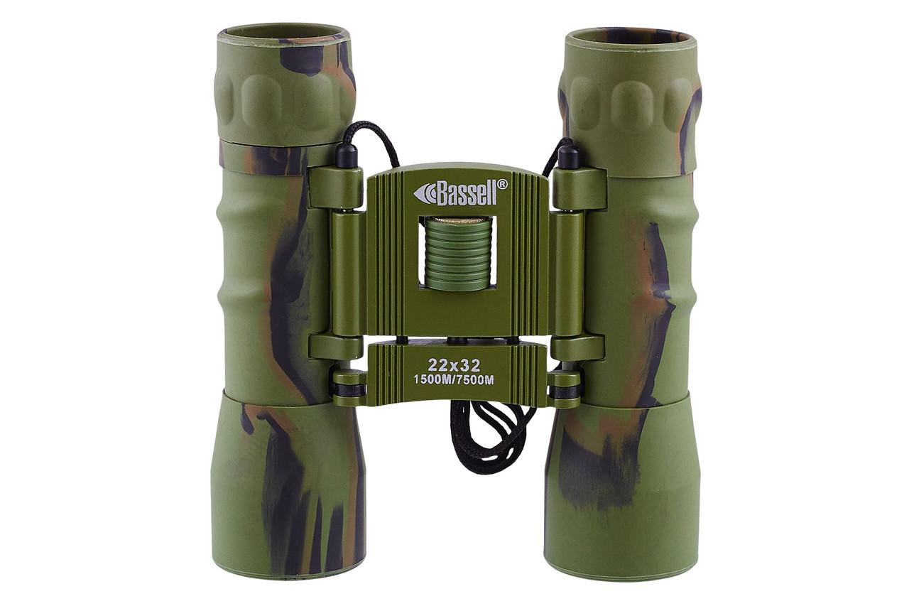 Бинокль 22х32 - BASSELL (green)