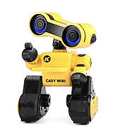Робот JJR/C R13 CADY WIRI багатофункціональний робот на р/к Жовтий (SUN3682), фото 1