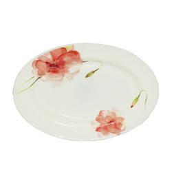 Блюдо овал 10 см Цветочная акварель Snt 30066-16005