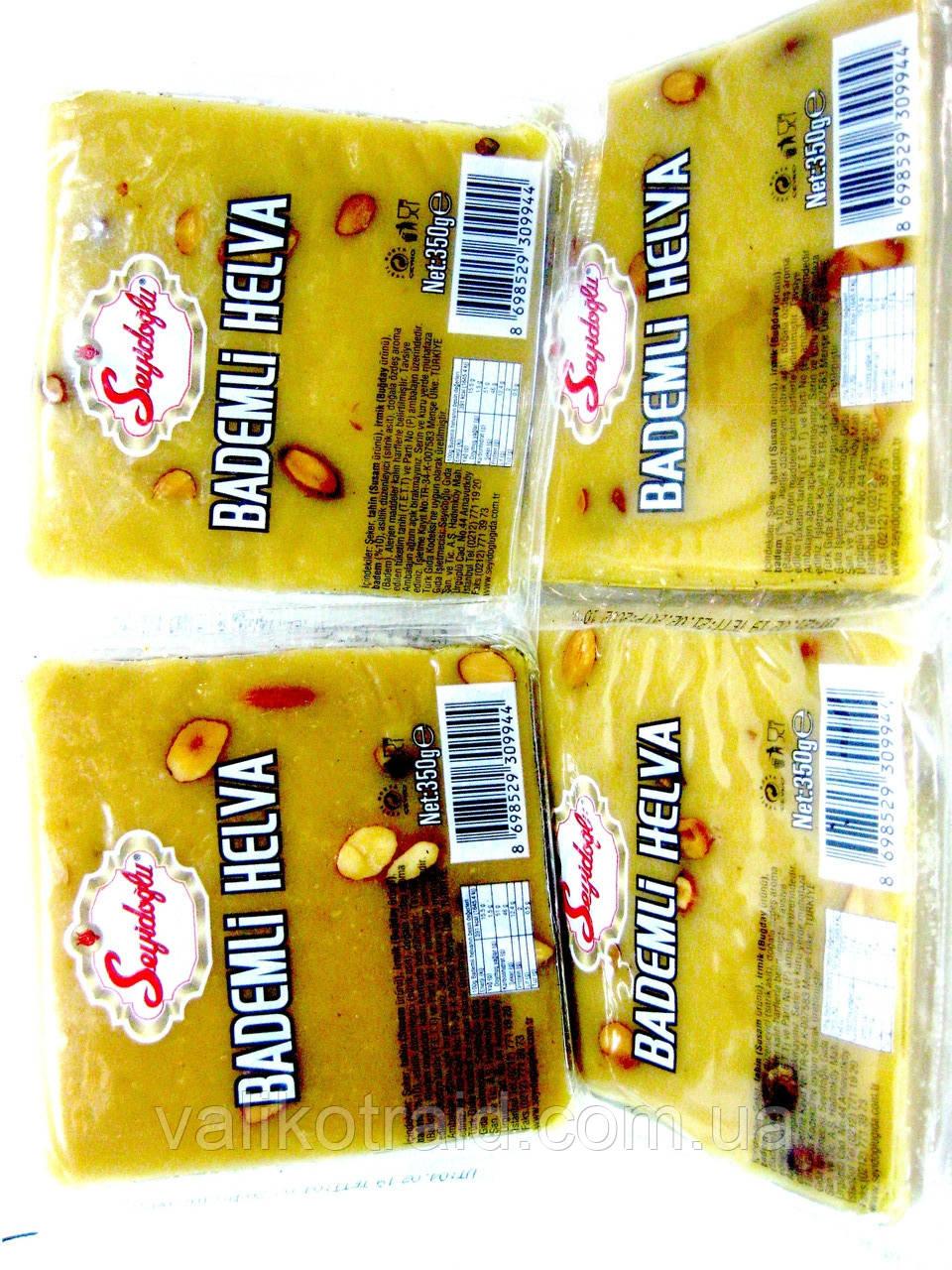 МИГДАЛЬНИЙ МАРЦИПАН 350г BADEMLI, халва з цільним горіхом мигдалю , турецькі солодощі