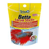 Сухой корм для аквариумных рыб Tetra в палочках «Betta Larva Sticks» 5 г (для петушков)