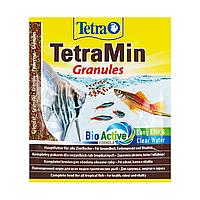 Сухой корм для аквариумных рыб Tetra в гранулах «TetraMin Granules» 15 г (для всех аквариумных рыб)