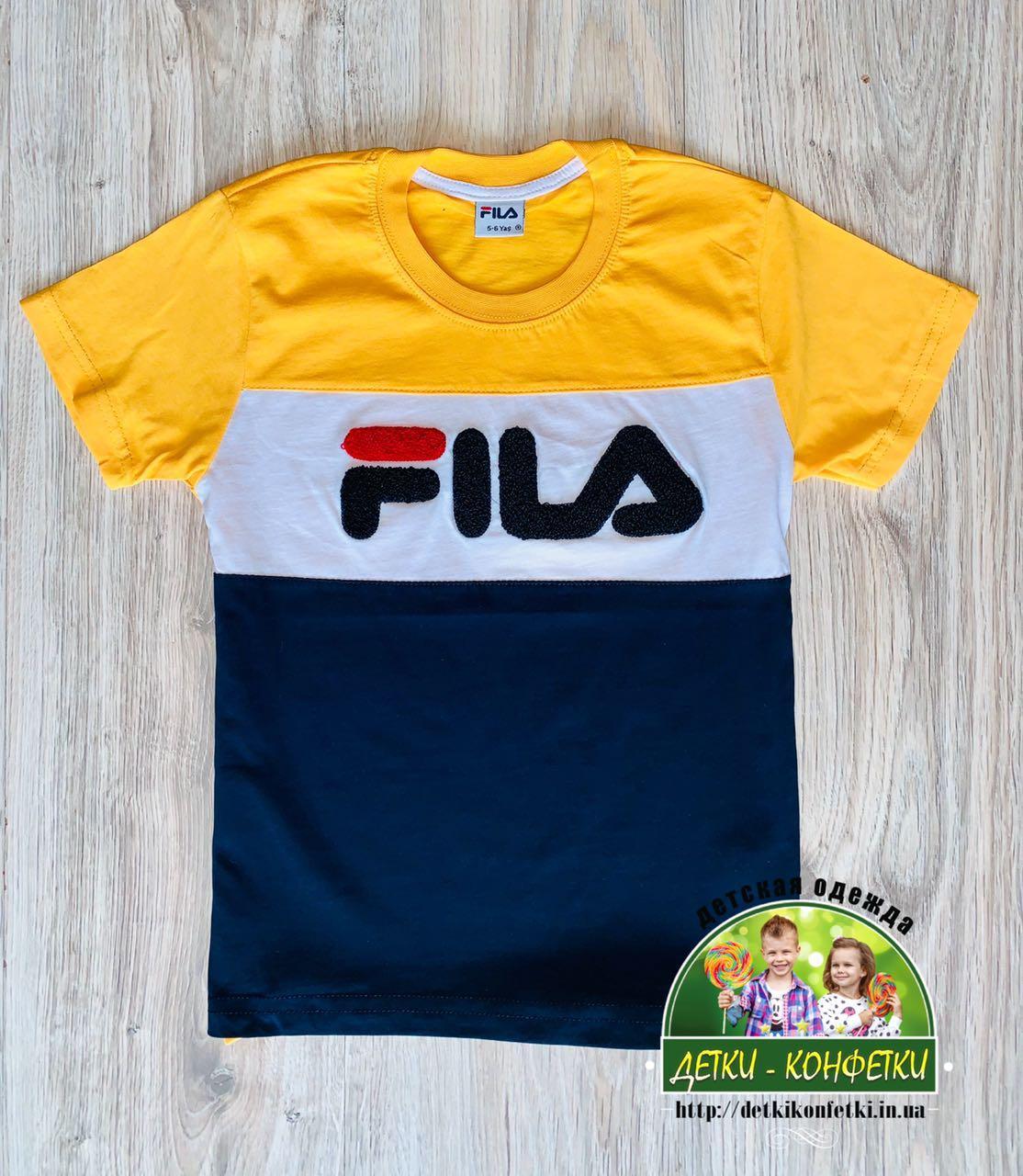 Детская футболка Fila