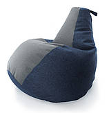 Комби кресло мешок груша Оксфорд Стронг