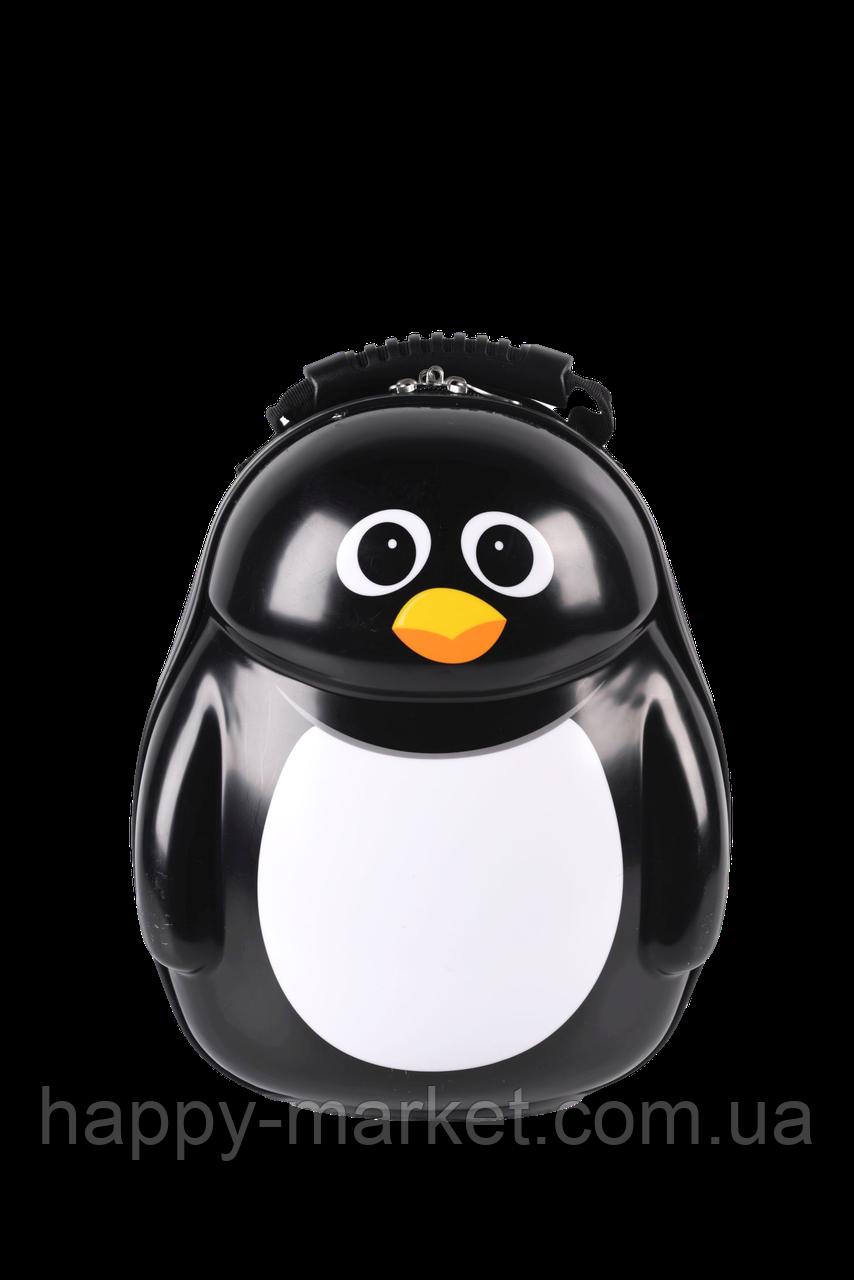 Рюкзак Ранец для дошкольника пластиковый «Пингвин» 0101-12